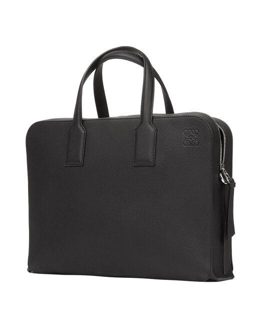 LOEWE Goya Thin Briefcase 黑色 all