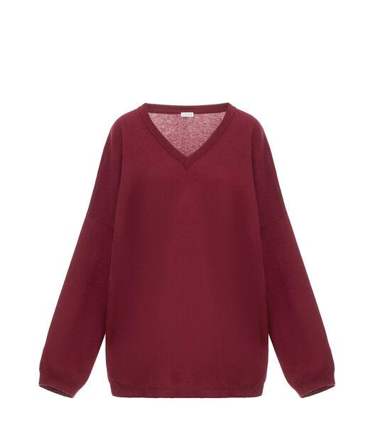 オーバーサイズVネックセーター