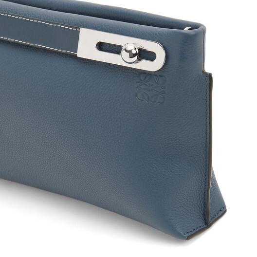 LOEWE Missy Small Bag Steel Blue front