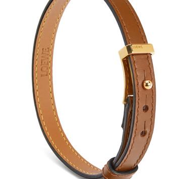 LOEWE Double Bracelet Tan front