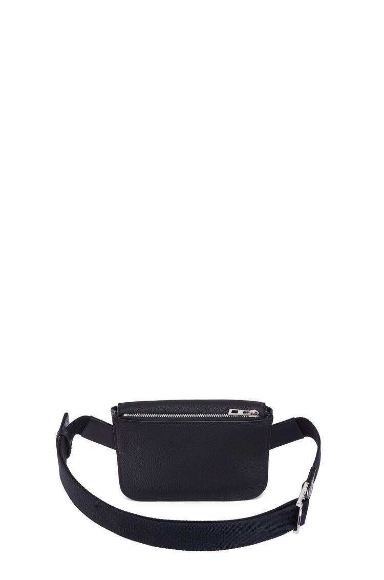 LOEWE Military Bumbag In Soft Grained Calfskin Black pdp_rd