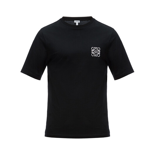 LOEWE Camiseta Anagram Negro front