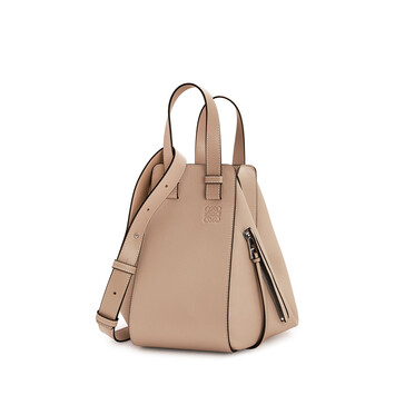LOEWE Hammock Small Bag Light Oat  front