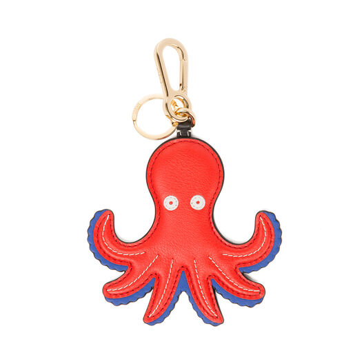 LOEWE Octopus  Charm Red/Blue front