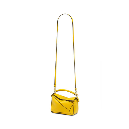 LOEWE Bolso Mini Puzzle Amarillo all