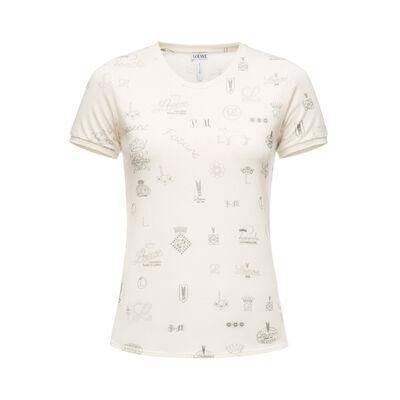 LOEWE T-Shirt Logos Calico front