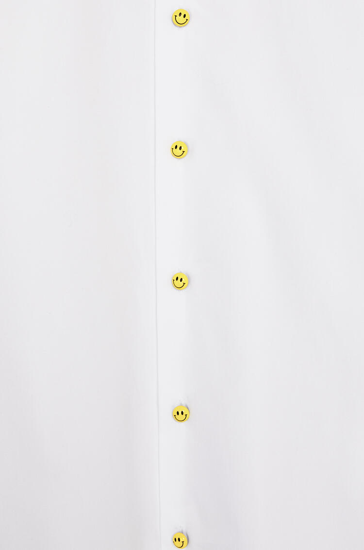LOEWE Shirt in cotton with Smiley buttons White pdp_rd