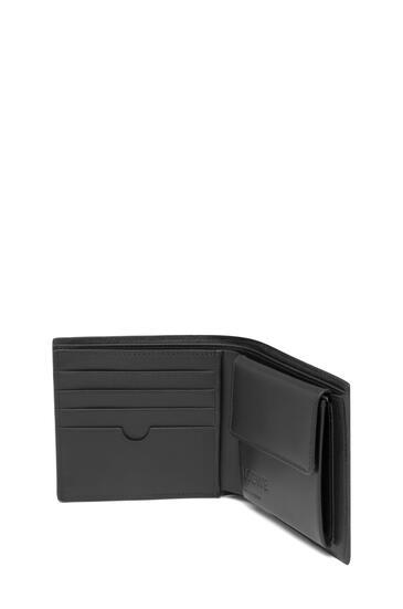 LOEWE Puzzle Bifold Wallet In Calfskin 黑色 pdp_rd