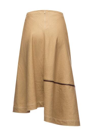 LOEWE Skater Skirt Belt Pocket Beige front
