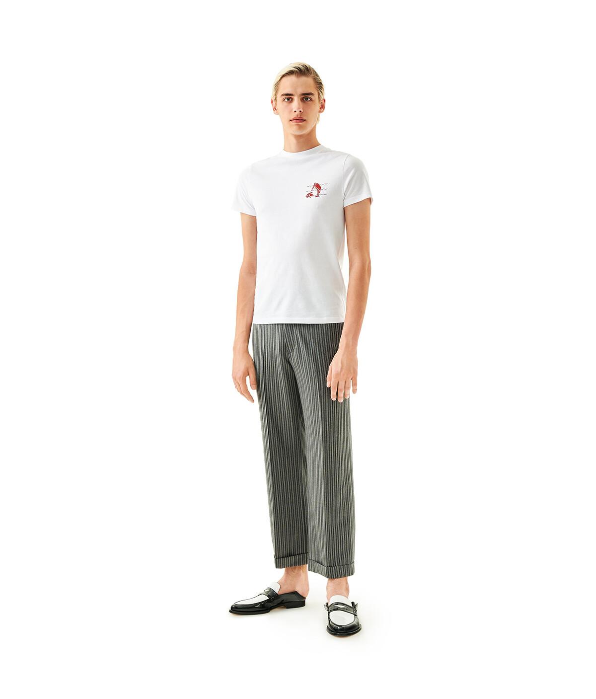 LOEWE Printed Tshirt Blanco front