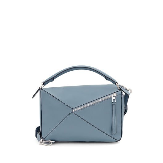LOEWE Puzzle Bag 灰蓝色 all