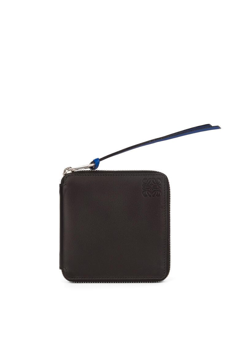 LOEWE Rainbow Square zip wallet in soft calfskin Multicolor/Black pdp_rd