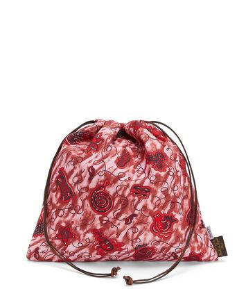 LOEWE Pouch Ajustable Paula Grande Azul/Rojo front