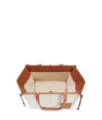 LOEWE Cushion Tote Grande Avena Claro front