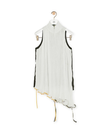 LOEWE Top Jelly Fish Blanco front