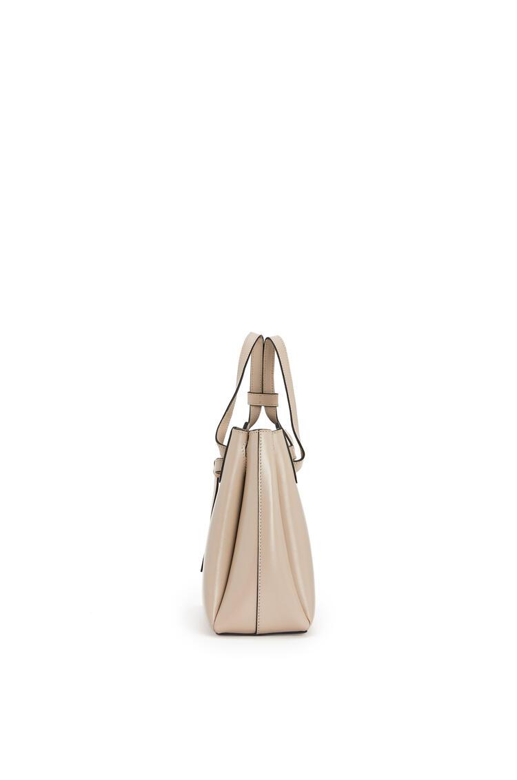 LOEWE Mini Lazo Bag In Bbox Calfskin Light Oat pdp_rd