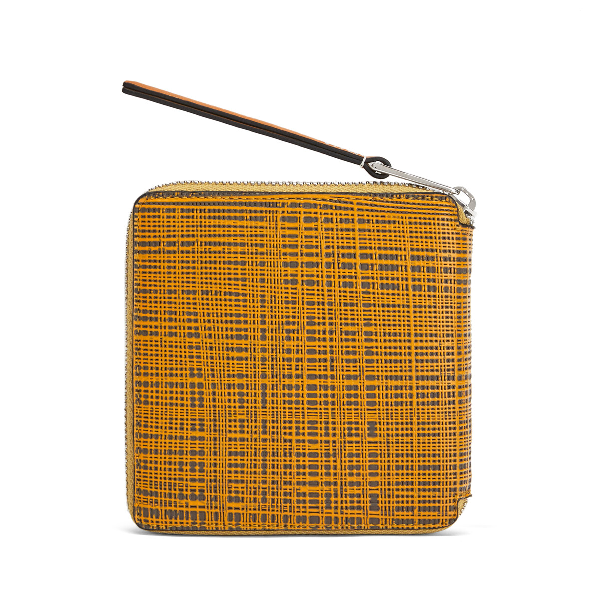 LOEWE Cartera Square Zip Ocre/Topo front