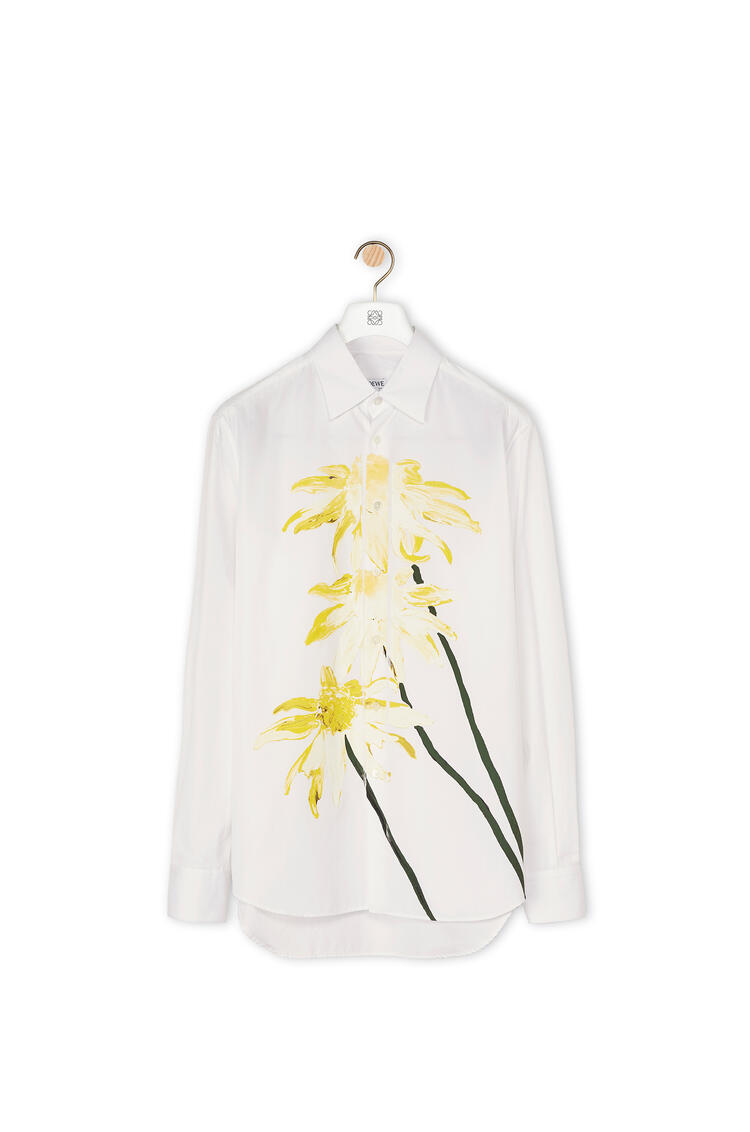 LOEWE Shirt in daisy cotton White pdp_rd