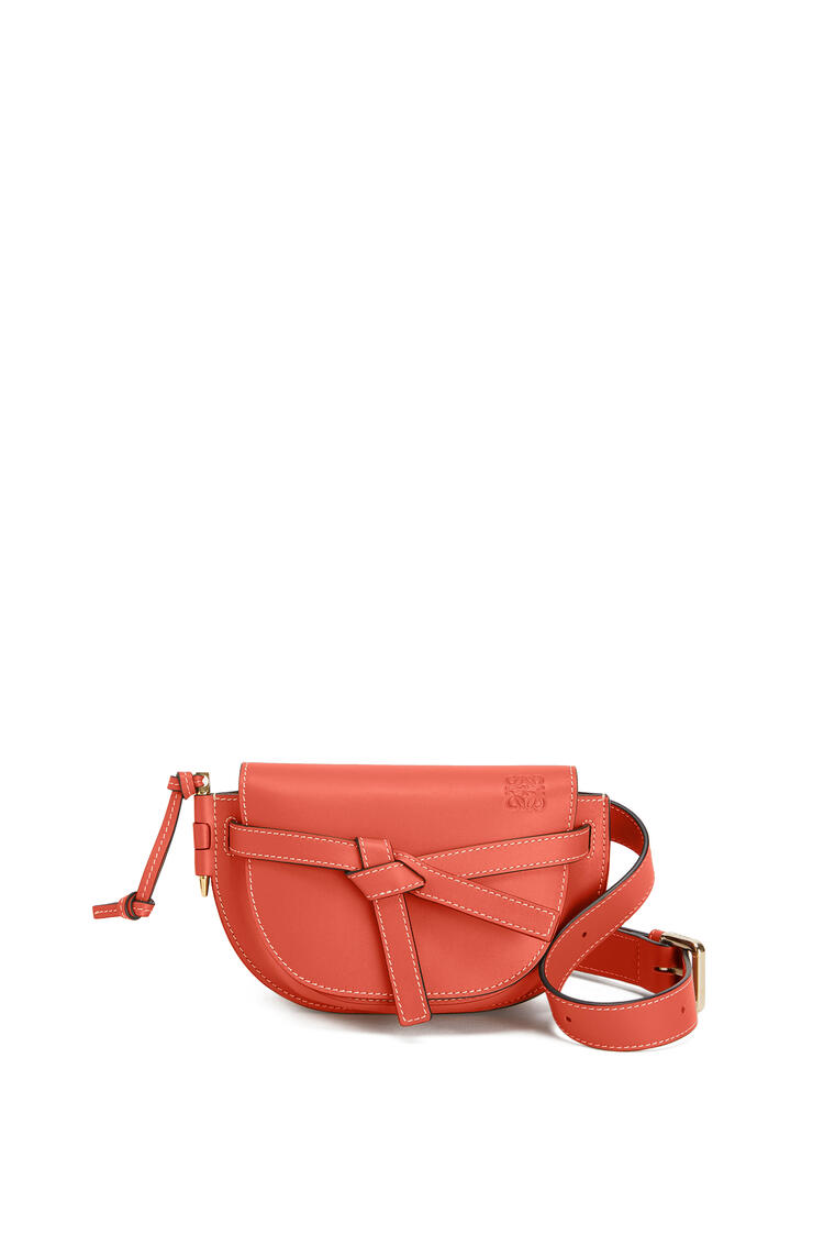 LOEWE Gate bumbag in soft calfskin Vermillion pdp_rd