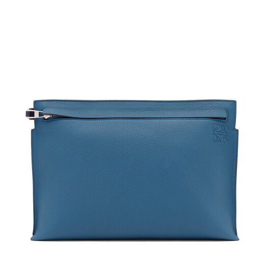LOEWE T Pouch Bicolor Duke Blue/Marine all