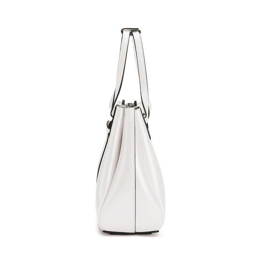 LOEWE Lazo Mini Bag Soft White front