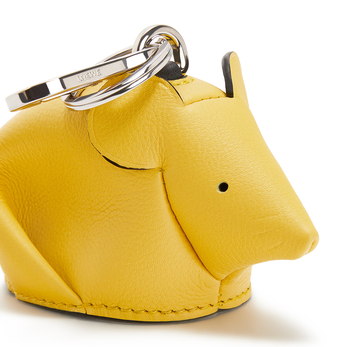 LOEWE マウス チャーム Yellow/Candy front