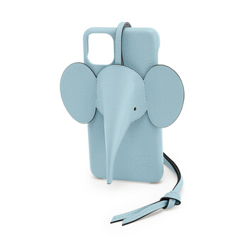LOEWE Elephant Cover For Iphone 11 Pro Max ライトブルー front