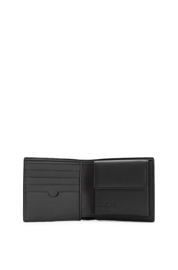 LOEWE Puzzle Bifold Coin Wallet In Calfskin Indigo pdp_rd