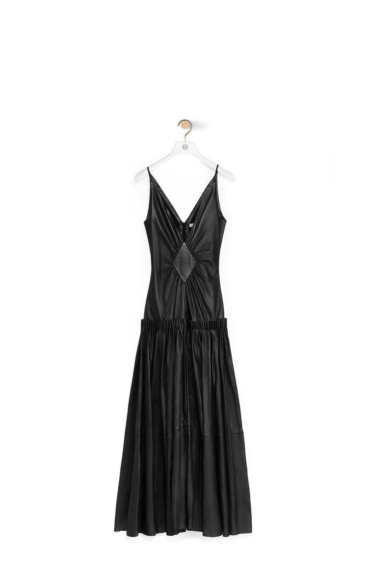LOEWE Tank dress in nappa Black pdp_rd