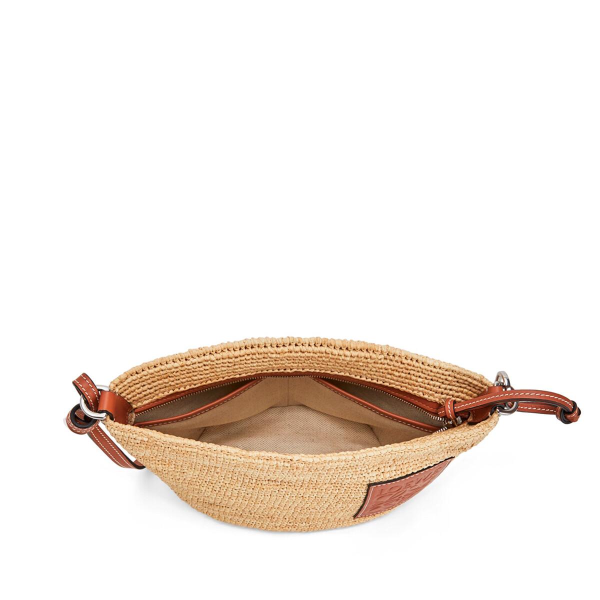 LOEWE Pochette Raffia Bag 原色 front