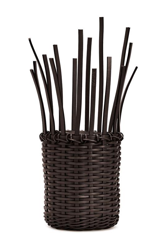 LOEWE Ikebana Vase Chestnut front
