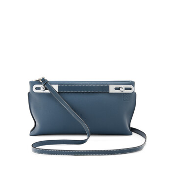 LOEWE Missy Small Bag Steel Blue front