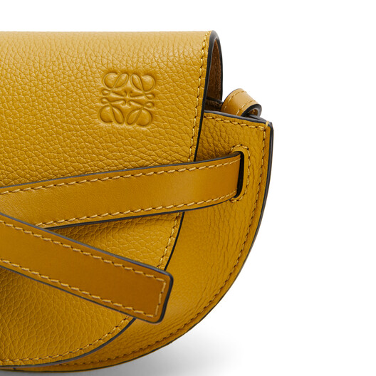 LOEWE Gate Mini Bag Ochre front