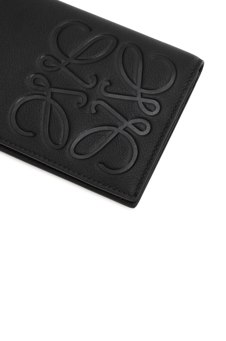 LOEWE Long horizontal wallet in smooth calfskin Black pdp_rd