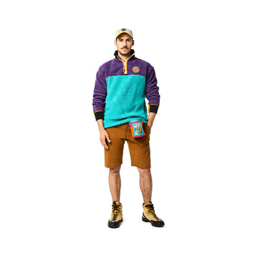 LOEWE Eye/Loewe/Nature Chalk Bag Violet/Orange front