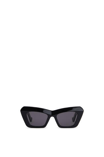 LOEWE ACETATE CATEYE SUNGLASSES Black pdp_rd