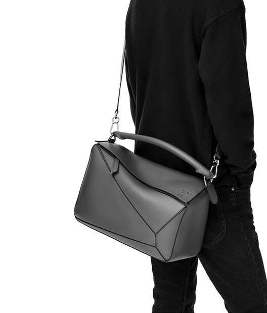 LOEWE Bolso Puzzle Grande Coñac front