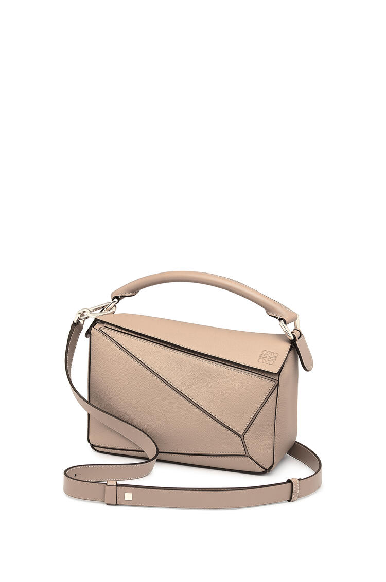 LOEWE Small Puzzle Bag In Soft Grained Calfskin Light Oat pdp_rd