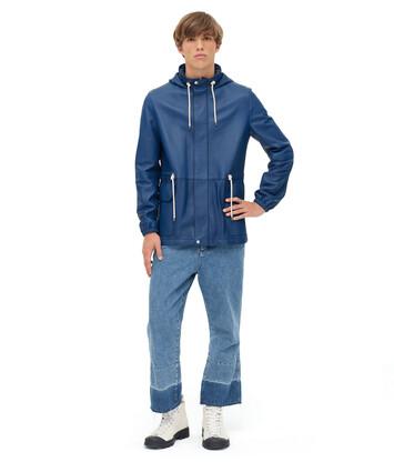 LOEWE ライト ハイキング ジャケット ネイビーブルー front
