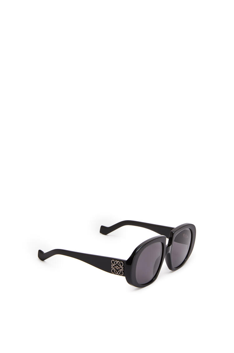 LOEWE ACETATE ANAGRAM SUNGLASSES Black/Gradient Smoke pdp_rd