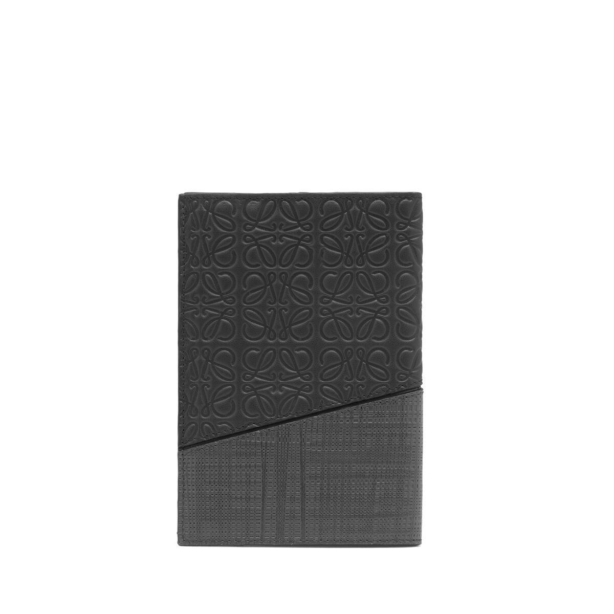 LOEWE パズル パスポート カバー ブラック all