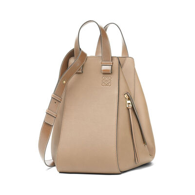 LOEWE Hammock Medium Bag Sand/Mink Color front