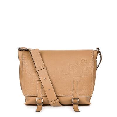 LOEWE Military Messenger Small Bag Mink Color front