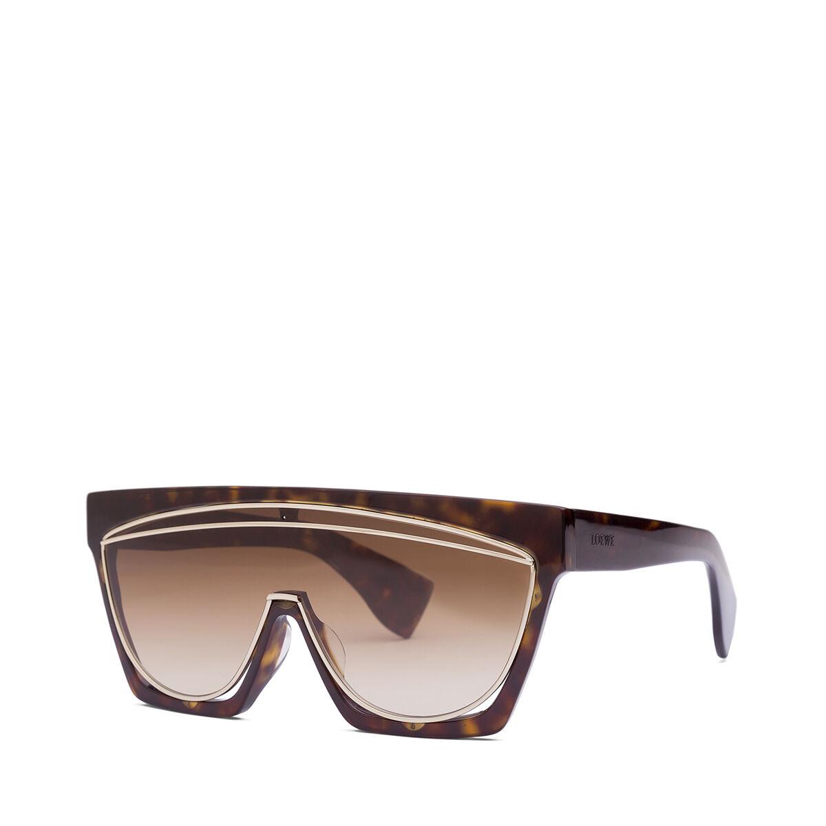 LOEWE Gafas Mascara Havana Oscuro/Marron Degradado all