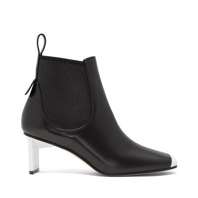 LOEWE Blade Heel Boot 70 Black/White front