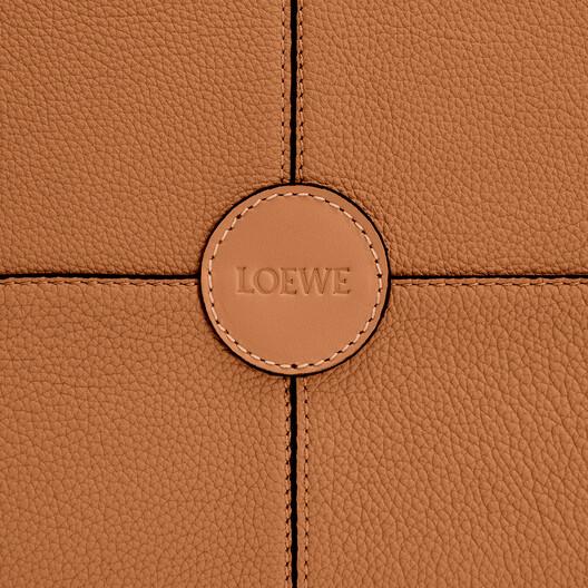 LOEWE Cushion Tote Light Caramel front