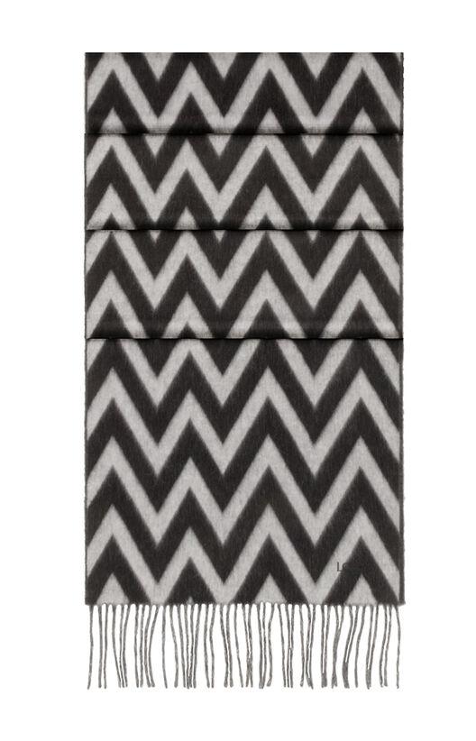 LOEWE 45X230 Scarf Herringbone 白色/黑色 all