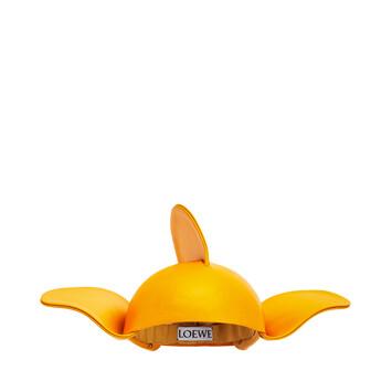LOEWE Gorro Wings Amarillo Mango front