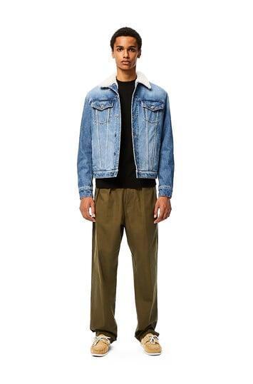 LOEWE Denim Jacket ブルー front