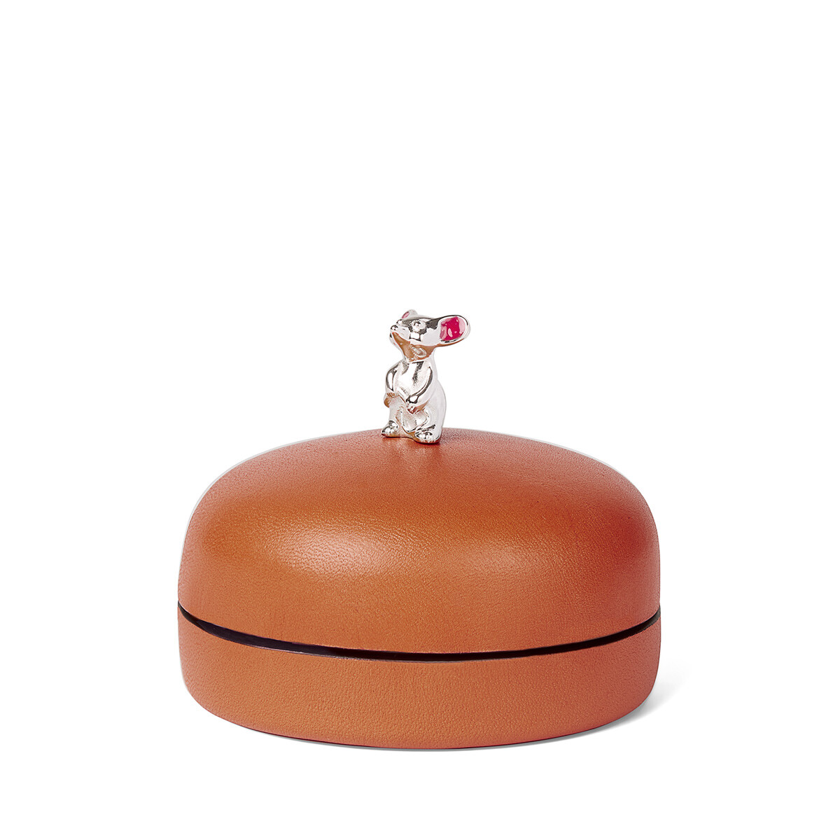 LOEWE Box Mouse Small Pecan Color front